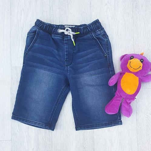 ⭐Next denim shorts with elasticated waist. 8yrs