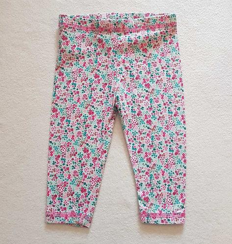 Next floral leggings. 3-6months