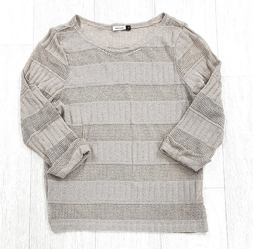 River Island beige sparkly sweater. Size 12