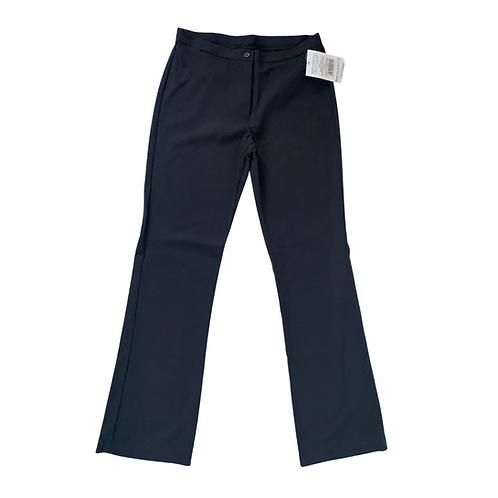 Banner black senior girls shaped leg trousers. NWT