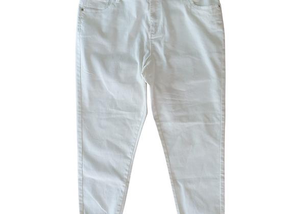 Denim Co white crop skinny jeans. Uk 16 / eu  44/ us 12 / IT 48