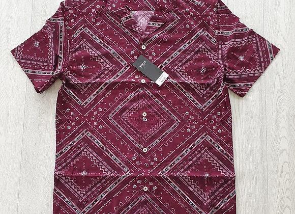 Burton plum mix shirt. Size XS NWT