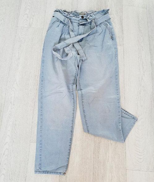 Denim Co paper bag jeans. Uk 12