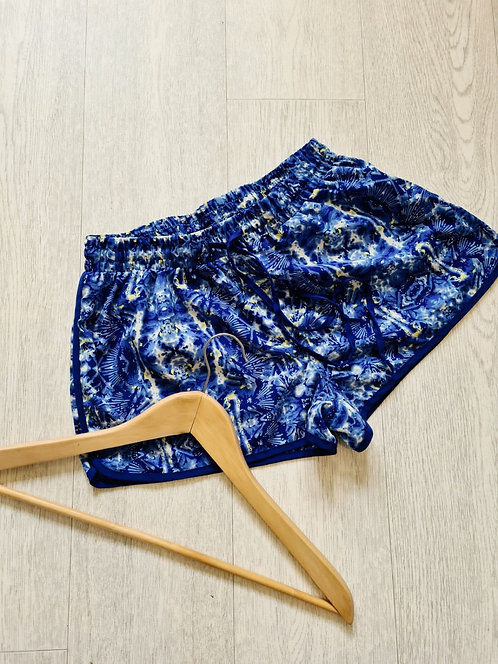 💐ATMOSPHERE blue mix shorts. Size 6