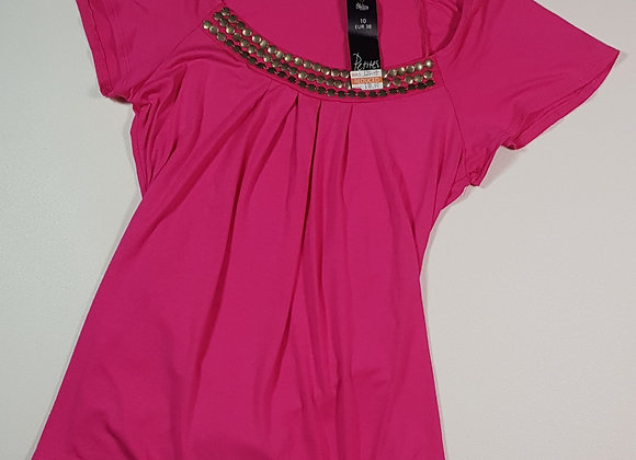 Bhs Petites pink tie back top. Size 10. (NWT)