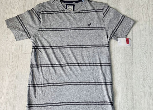🐢Crew Clothing grey T-shirt. Size Small NWT