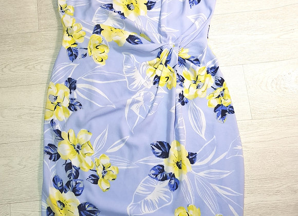 Dorothy Perkins blue knot front dress. Size 18 NWT