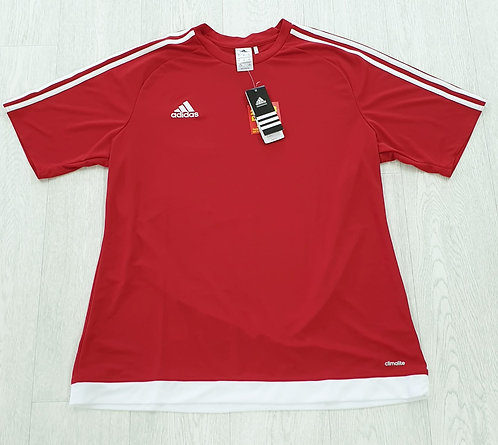🌑Adidas red t-shirt. Size XL NWT