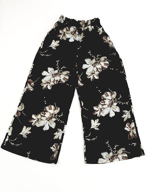 🌺Wide leg black trousers. Size L