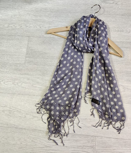 Bewitched Accessories grey/purple scarf