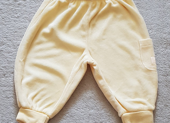 Disney. Little Roo yellow soft trousers. 0-3 months.