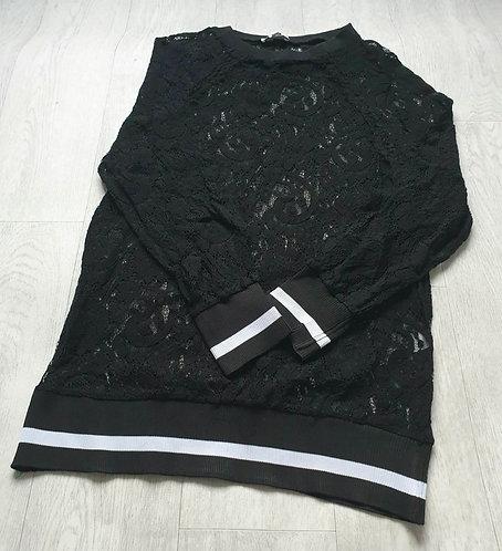 ArtLove black lace jumper. Size S