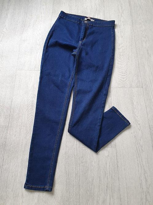 Love blue skinny jeans. Size 14