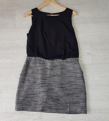 Next black/grey dress size 12