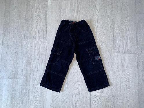 🦊JoJo Maman Bebe navy chord trousers. 2-3yrs