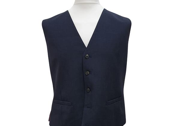 "Burton navy waistcoat. Size XL 44-47"" chest"