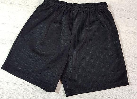 Bhs black sports shorts. 9yrs