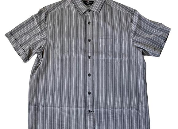 Blue Harbour grey mix shirt.  Size L