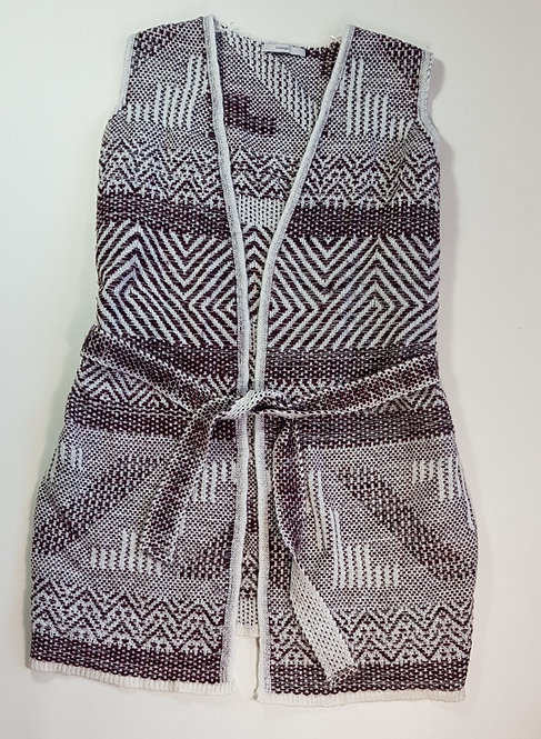 George knit jacket with belt. Size 18