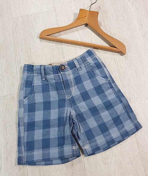 💙Gap blue check shorts. 12-18m NWT
