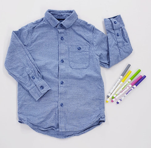 🍂Next blue shirt. 4yrs