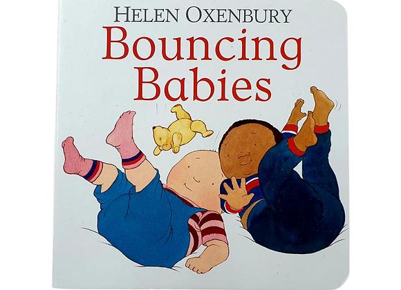 Bouncing Babies by Helen Oxenbury hardback book