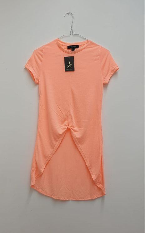 ⚘ATMOSPHERE peach longline tshirt. Size 4