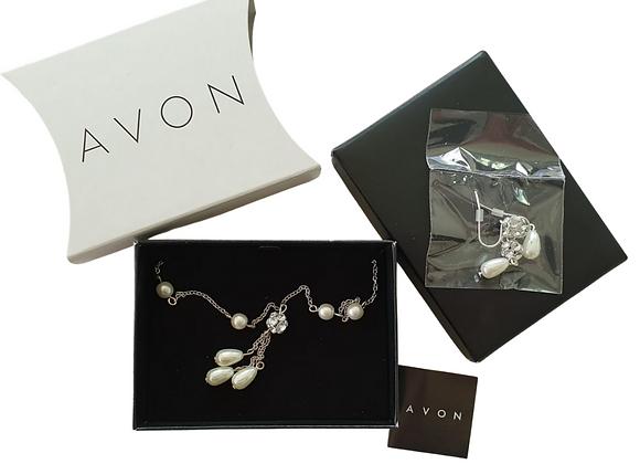 Avon Purisma Pearlesque Gift set NWOT
