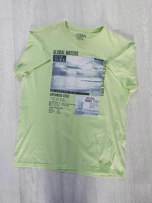 Losan green t-shirt. Size L