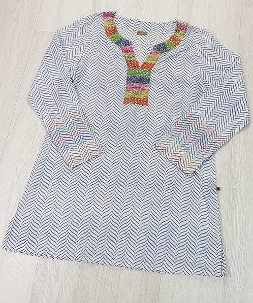 The Shop multi coloured tunic Size M
