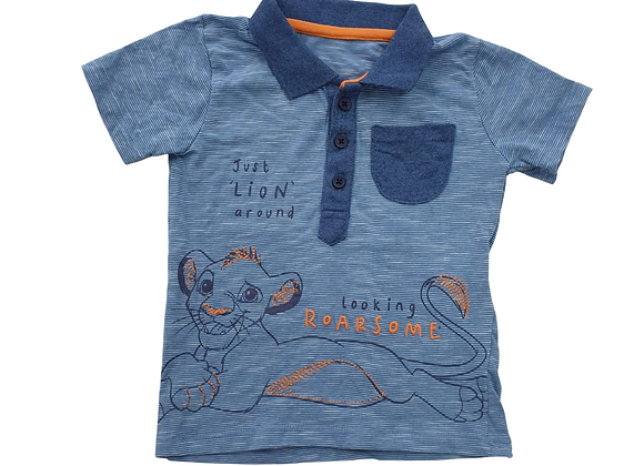 Disney's Lion King polo shirt.  12-18m