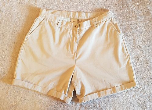 Cotton Traders. Beige shorts.100% cotton. Size 14.
