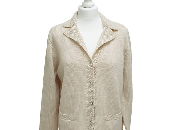 Cotswold Collections cream cardigan. Size L
