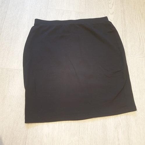 🏵Primark black soft mini skirt. Size 8