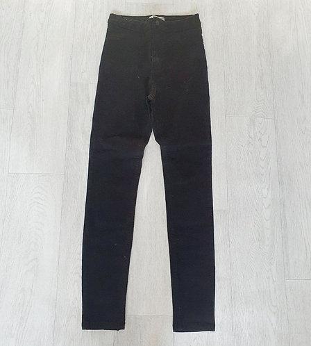 Denim Co black skinny jeans. UK 12