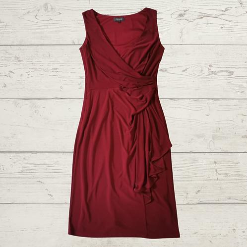 Alexon wine red dress. Uk 8