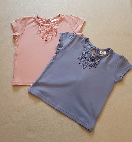 F&F set of 2 tshirts. 3-6months
