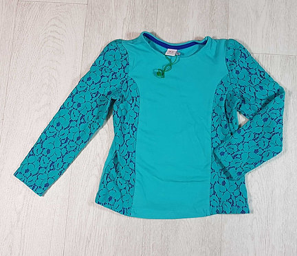 ◽Mini Club teal lace top. 5-6yrs NWOT