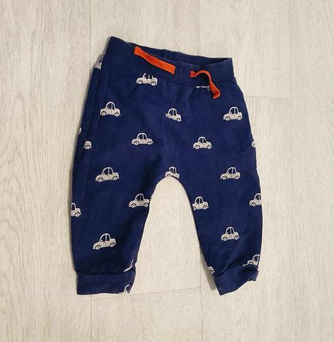 Bluezoo car soft trousers. 6-9m