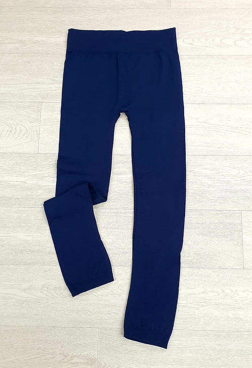 Body Fit navy leggings. Size L/XL