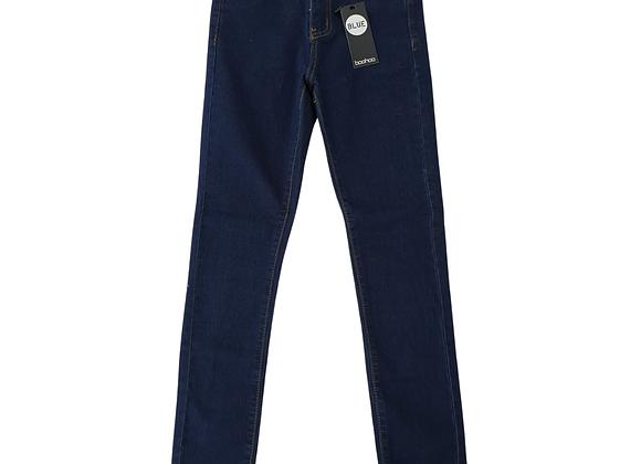 Boohoo blue skinny jeans. Uk 4 NWT