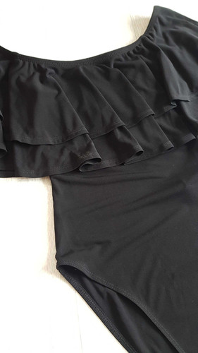 1dfb27b89bd New Look black off the shoulder body suit. New without tags. Size 8 Tall