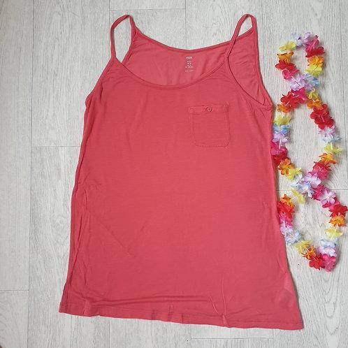 🧡H&M coral vest top. Size M