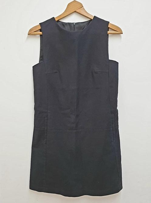 Zara Black pinafore dress. Size S