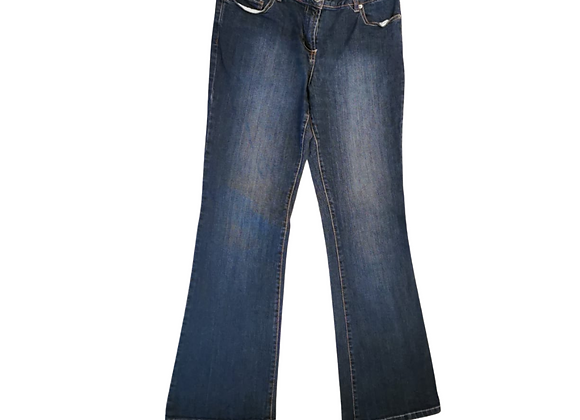 South Blue bootcut denim jeans. Uk 12