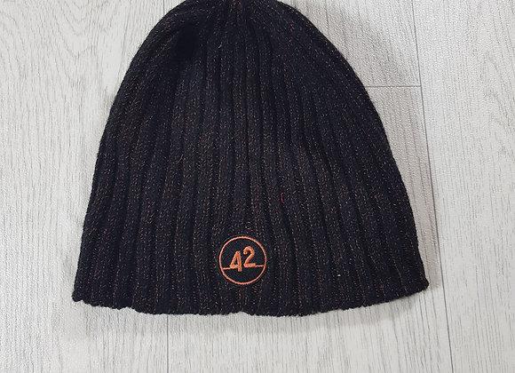 42 orange and black hat size 5 / 10 years