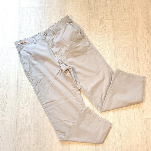 ♠️M&S Collezione grey chino style trousers. 34w 29L