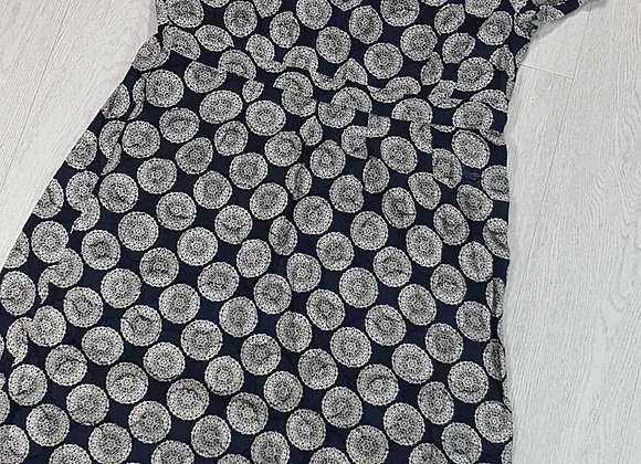 Adini navy summer dress  size L1
