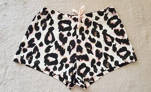 FEEL FABULOUS Animal print shorts uk womans 6-8