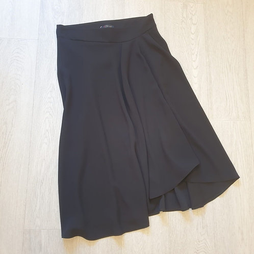 🌸Actuel black long skirt. Size 12-14 NWT